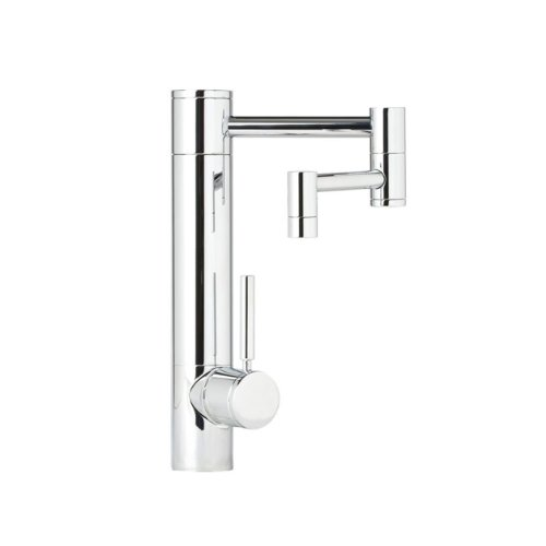 waterstone kitchen faucet articulated spout
