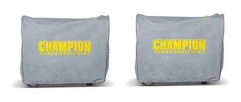 Champion Weather-Resistant Storage Cover for 2800-Watt or Higher Inverter Generators (2-Pack)