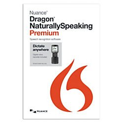 Nuance Dragon NaturallySpeaking 13 Premium Mobile For PC, Traditional Disc