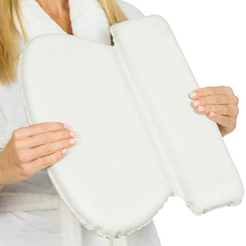 Xtra-Comfort Bath Pillow (2' Thick) - Bathtub Spa Cushion For Neck, Shoulder and Head Support - Hot...