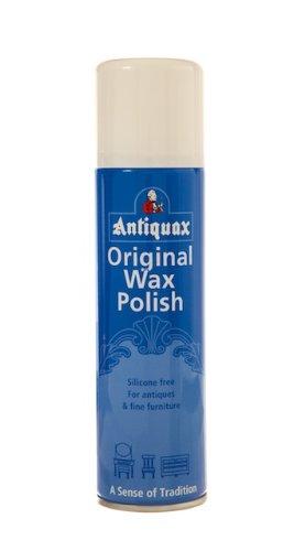 Antiquax 250 ml Original Aerosol Wax Polish, Transparent Rustins ANTQWA