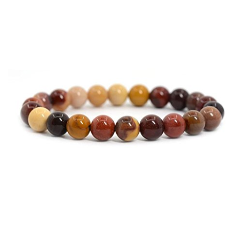 Top Quality Natural Mookaite Jasper Gemstone Bracelet 7