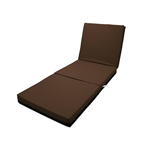 Magshion Single Size (27''Wide) Memory Foam Mattresses Folding Bed (Brown) by Magshion