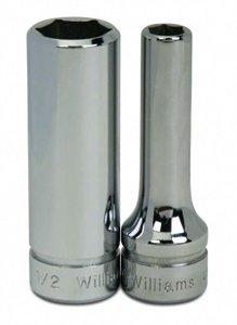Williams BMD-625 3/8 Drive Deep Socket, 6 Point, 25mm - 25 Mm Socket