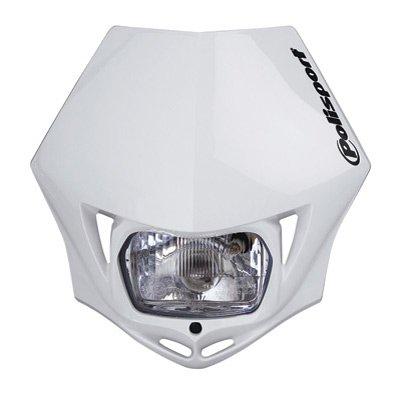 Polisport MMX Universal Headlight - White 8663500001