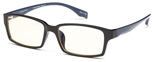 GAMMA RAY 004 Professional Computer Gaming Reading Glasses Anti Harmful Blue Light Anti Glare UV400 for TV Monitor and Digital Screens - With 3.50x Magnification