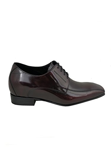 Zerimar Elevator Shoes for Men Add 7 cms | Men's Height Increasing Shoes | Shoes That Increase Your Height | Colour: Bordeaux | Size: 6.5 UK - 39 EU bS512zL6B