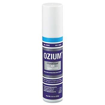 Handheld Ozium 500 Air Sanitizer, Original, 0.8 oz Aerosol, 12/Box (Sanitizer Glycolized Air)