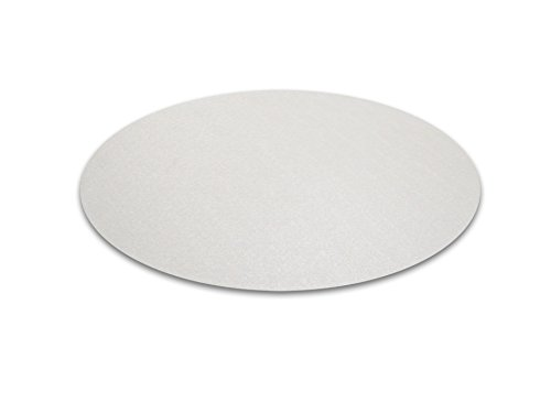 Cleartex Circular General Purpose Floor Mat, For Hard Floor, Round, 24'' Diameter (FC126020RR) by Floortex