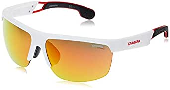 Carrera Men's 4005/S 7F 6HT Sunglasses, Whcrygrydots/Rd Red, 65