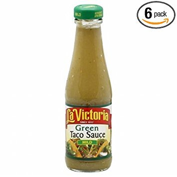 La Victoria Taco Sauce, Grn, Mild, 8-Ounce (Pack of 6) ()