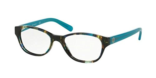 Tory Burch TY2031 Eyeglass Frames 3153-51 - Blue Brown Tort/blue Lark - For Women Eyeglasses Blue