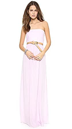 Splendid Women's Combo Strapless Maxi Dress, Lilac Sky, Large