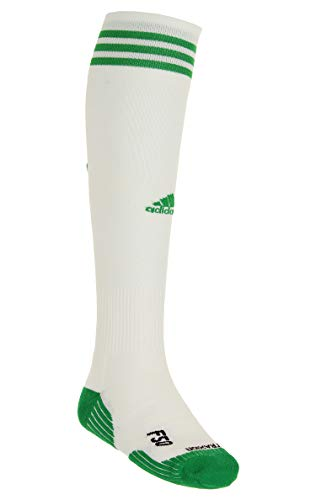(Adidas MLS Classic Cussioned Soccer Socks, Portland Timbers - White/Green, Large)