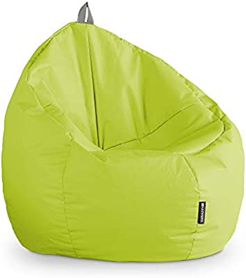 HAPPERS Puff Junior Polipiel Indoor Verde: Amazon.es: Hogar