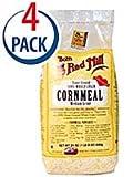 Bob's Red Mill Medium Grind Cornmeal -- 24 oz Each / Pack of 4