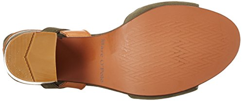 Heel Sandales Marc 70214021301302 Ouvert O'Polo High Sandal Femme Bout Vert Olive naXtqXx