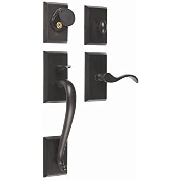 Rockwell Premium Solid Brass Savoy Single Cylinder Door