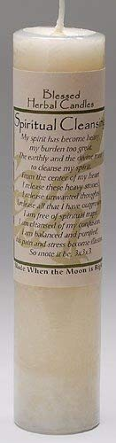 Blessed Herbal Candle - Spiritual Cleansing