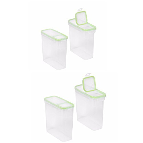 Snapware Airtight Plastic Storage with Fliptops (4)