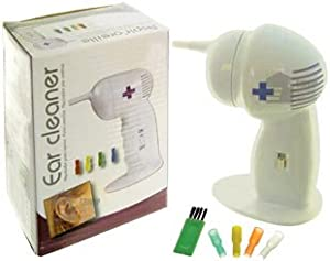 Great Ideas Electronic Ear Cleaner - Battery Powered