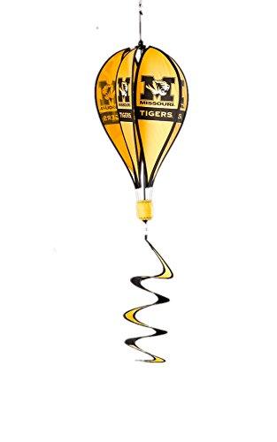 - BSI Outdoor Garden Yard Party Decorative Missouri Tigers Team Logo Hanging Hot Air Balloon Spinner