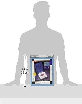 Light Blue, A7026022A Acco 9.5 Inch Presstex Data Binder