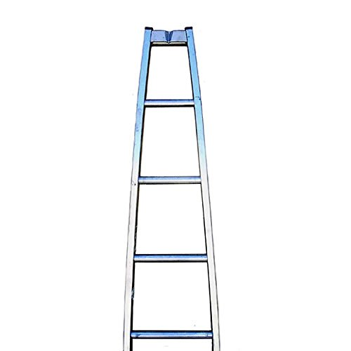 (Metallic Ladder Aluminum Window Cleaning/Washing Sectional Specialty Ladders (Top Section-V Groove) )