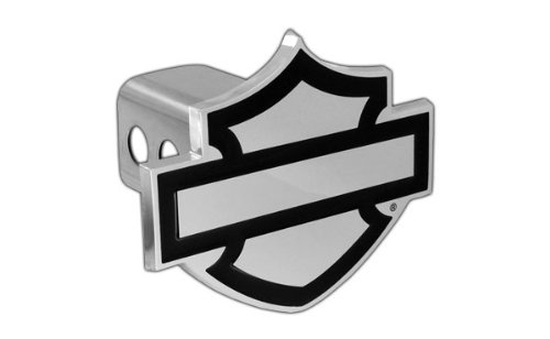 Harley-Davidson Trailer Hitch Cover Plug Bar & Shield Emblem (2 inch post) (Harley Davidson Hitch Cover)