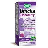 Nature's Way Umcka Elderberry Intensive Cold Plus Flu, 4 oz
