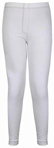Grande denim stretch Taille white 42 Jeans Jegging Nouveau Femmes ajust 56 Skinny qgwEBwtU