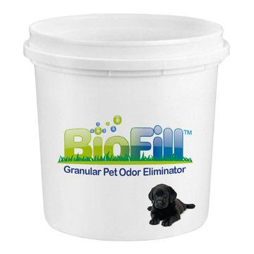 BioFill Artificial Grass Turf Granular Infill Deodorizer and Eliminator - All Natural, Long Lasting Pet Dog Urine Odor Deodorizer to Filter and Neutralize Odor in Turf Surfaces - 8lb