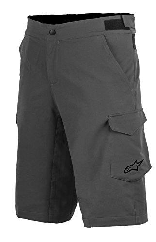 - Alpinestars Men's Rover 2 Base Shorts, Size 36, Dark Shadow Black