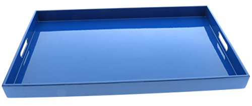 Kotobuki 270-895 Rectangular Gloss Lacquer Serving Tray, 18-3/4