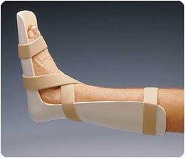 Rolyan Preformed Foot Drop Splint. Size: L (women's sizes 10-12, men's 11-13) - Model A6343