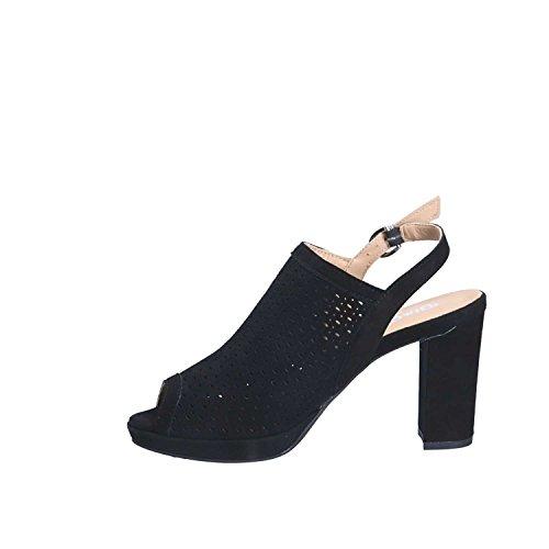amp;Co Black High Heeled IGI Women Sandals 1168 39 4wqRO7TP