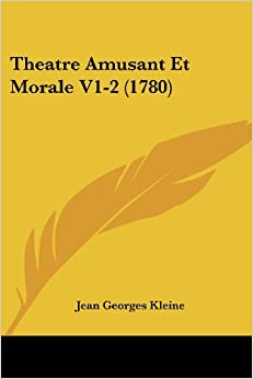 Book Theatre Amusant Et Morale V1-2 (1780)