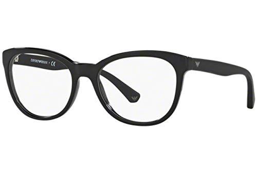 Emporio Armani EA3105 Eyeglass Frames 5017 - Black 54mm