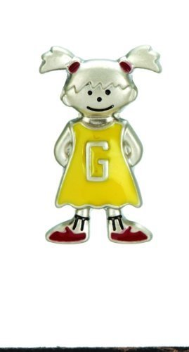 Mini My Kid's Initial Tag - Girl - G