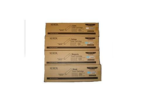 (Xerox Phaser 7760 Toner Cartridge Bundle (4-Items) - Retail Packaging)