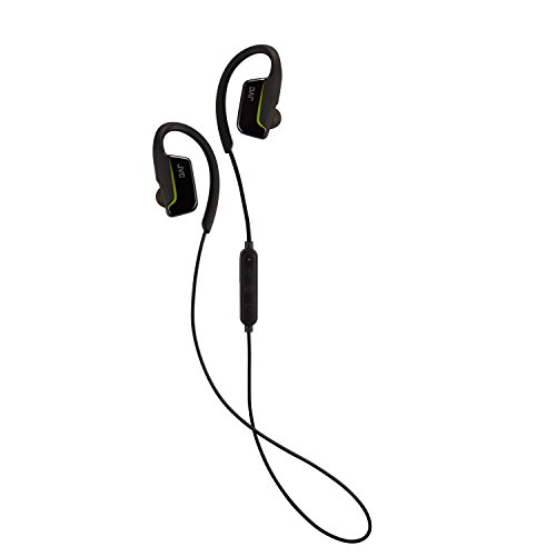 JVC Wireless Waterproof Extreme Fitness Bluetooth Wireless Ear Clip Black (HAEC30BTB) (Bluetooth Jvc Headphone)