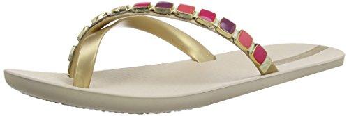 Ipanema Glam - Sandalias fashion de sintético mujer multicolor - Beige/Gold