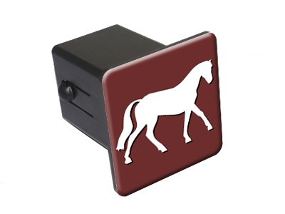 2 Tow Trailer Hitch Cover Plug Insert Truck Pickup RV Graphics and More Horse