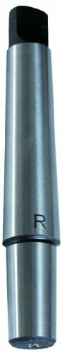 Röhm 14977 Type 236 Taper Shank Arbor with Morse Taper 2 to Jacobs J2 Drill Chuck, 12.4mm Shank Diameter, 106.5mm ()