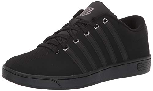 K-Swiss Men's Court Pro II CMF Sneaker, Black/Charcoal, 9 M US ()