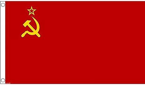 Amazon   国旗 USSR ソビエト社会主義共和国連邦 ソビエト連邦 特大 ...