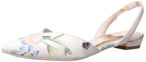 Ted Baker Women's PRIMLAP Ballet Flat, Elegant Pink, 8.5 Regular US ()