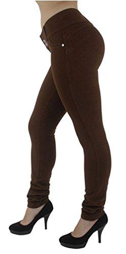 Bleu Hanche Nouveau Denim de lgant Jeans Beautisun Style Jeans dcontract Pantalon Slim Jeans Fonc up Push Femme Extensible Pantalon CqAxwtTnt