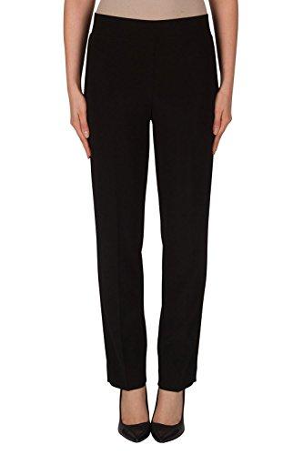 Joseph Ribkoff Black Elastic Waist Pull-on Stretch Pants Style L143105 - Size 14