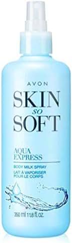 Avon Skin So Soft SSS Aqua Express Body Milk Spray 11.8 fl oz brand new sold by The Glam Shop